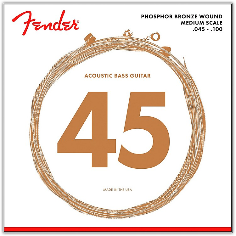 Fender7060 Phospor Bronze Acoustic Bass Strings