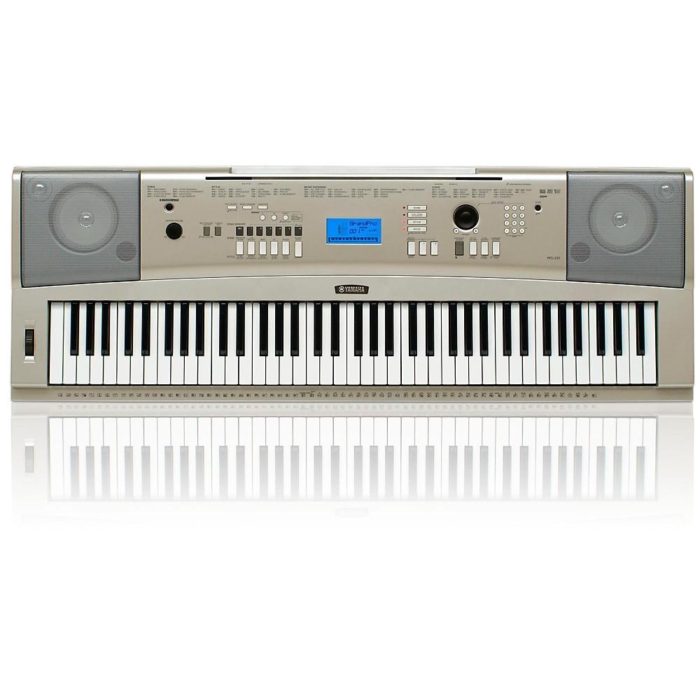 yamaha ypg 235 76 key portable grand piano keyboard ebay. Black Bedroom Furniture Sets. Home Design Ideas