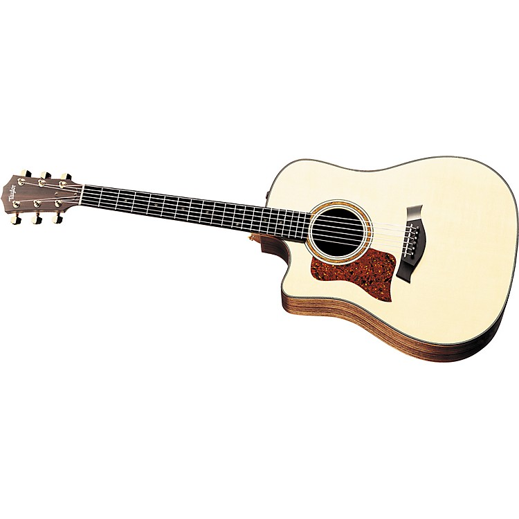 Taylor710-CE Left-Handed Dreadnought Cutaway Acoustic-Electric Guitar (2010 Model)