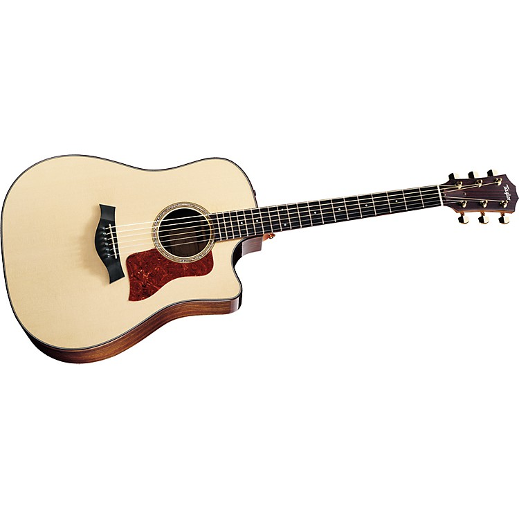 Taylor710ce Dreadnought Cutaway Acoustic Electric Guitar (2011 Model)Natural