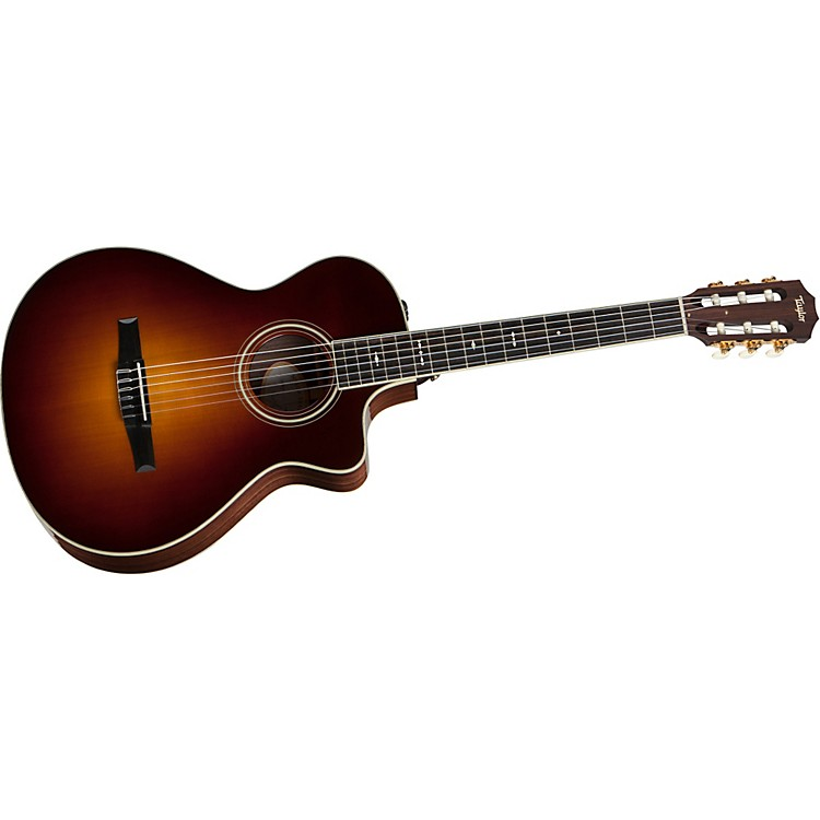 Taylor712ce-L Rosewood/Spruce Grand Concert Left-Handed Acoustic-Electric Guitar