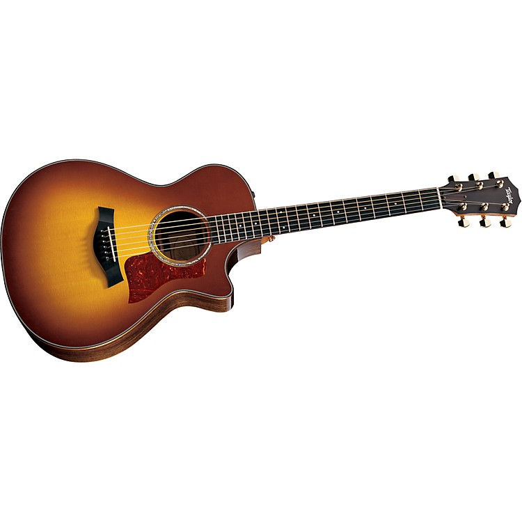 Taylor712ce Rosewood/Spruce Grand Concert Acoustic-Electric Guitar