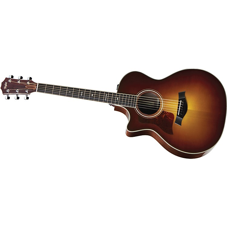 Taylor714ce-L Rosewood/Spruce Grand Auditorium Left-Handed Acoustic-Electric Guitar