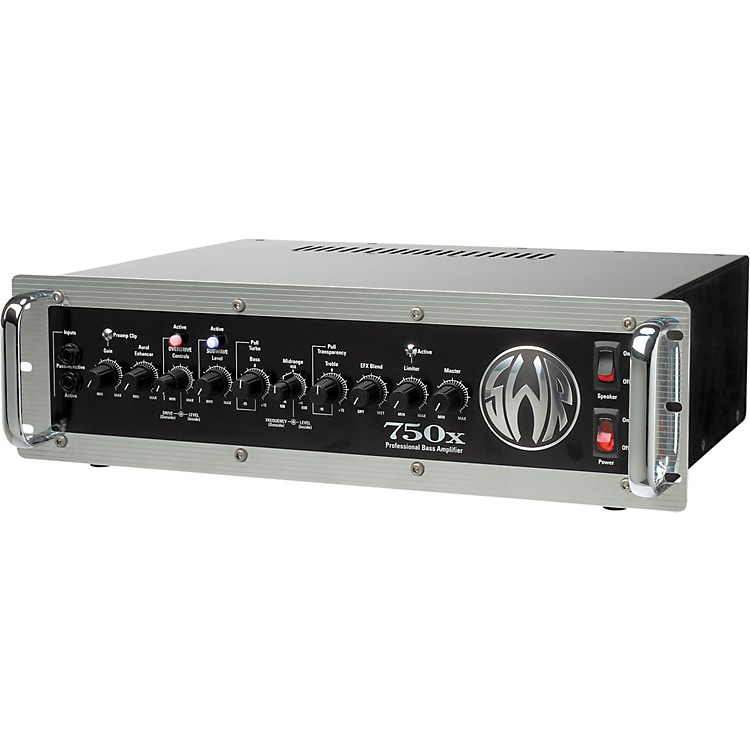 SWR 750x Bass Amplifier Head