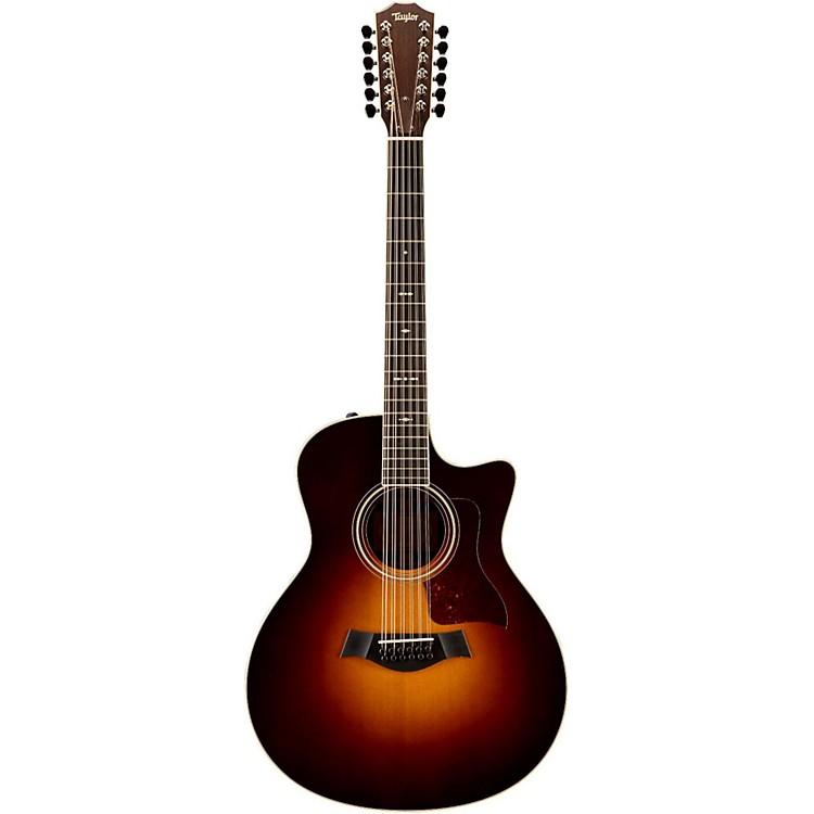 Taylor756ce Grand Symphony 12-String Cutaway ES2 Acoustic-Electric GuitarVintage Sunburst