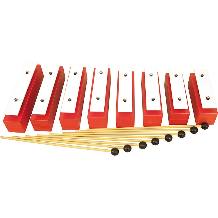 Rhythm Band8 Note Diatonic Wooden Resonator Bell Set