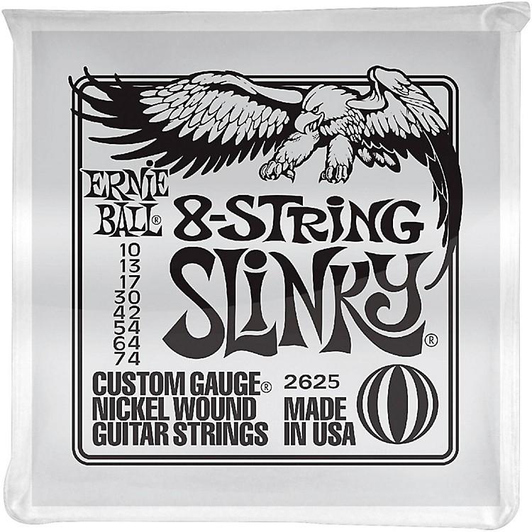 Ernie Ball8-String Slinky Electric Guitar Strings 10-74