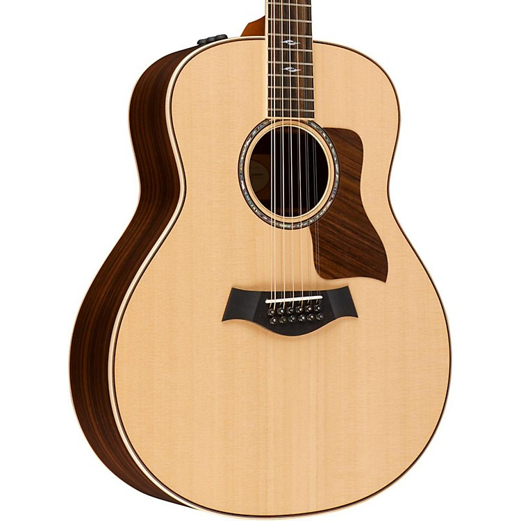 Taylor800 Series 858e Grand Orchestra 12-String Acoustic-Electric GuitarGloss