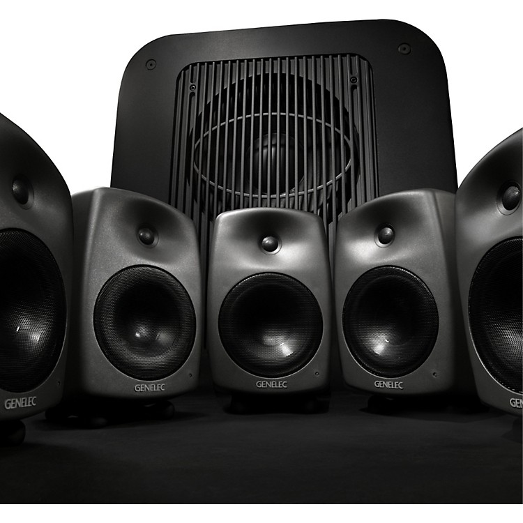 Genelec8030 LSE Power Pak Five 8030Bs and one 7060B sub