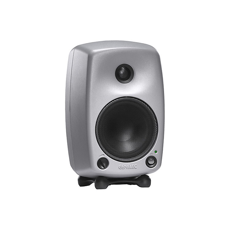Genelec 8030A Bi-Amplified Monitor System Silver