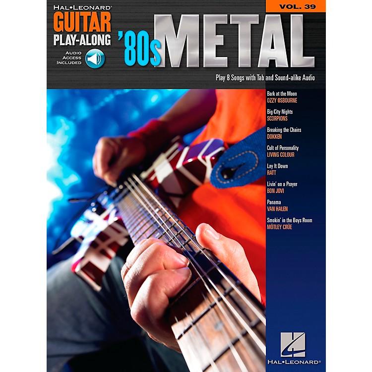 Hal Leonard80s Metal Guitar Play-Along Series Volume 39 Book with CD