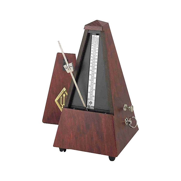 Wittner 811M Metronome Mahogany Wood Mahogany Wood Case With Bell