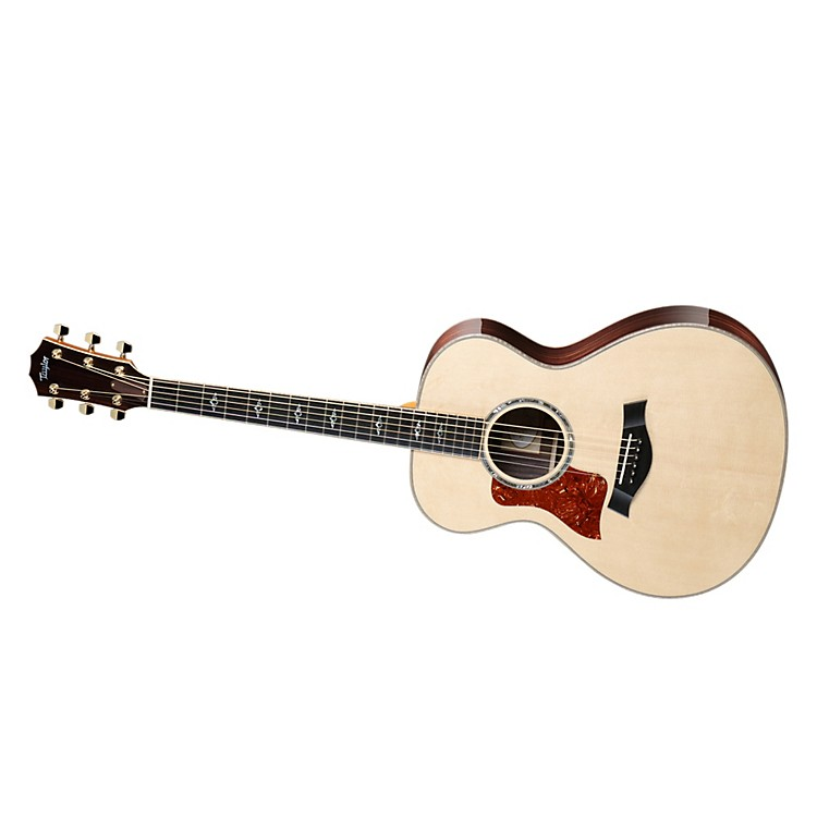 Taylor812 Rosewood/Spruce Grand Concert Left Handed Acoutic Guitar