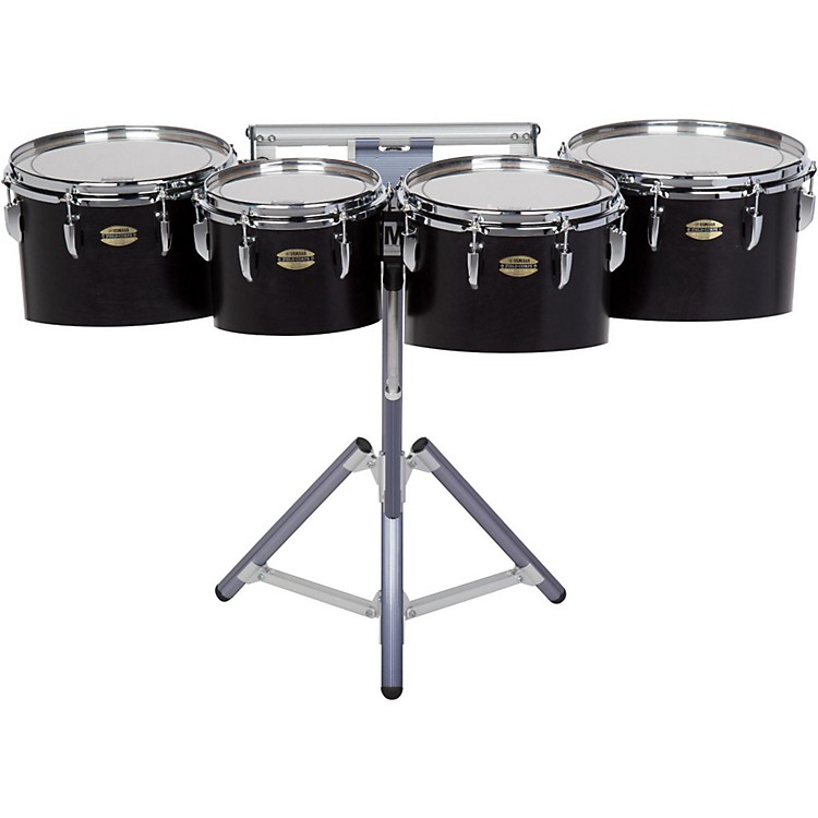 Yamaha 8300 Series Field-Corp Series Marching Tenor Quad 10, 12, 13 and 14 in. Black Forest