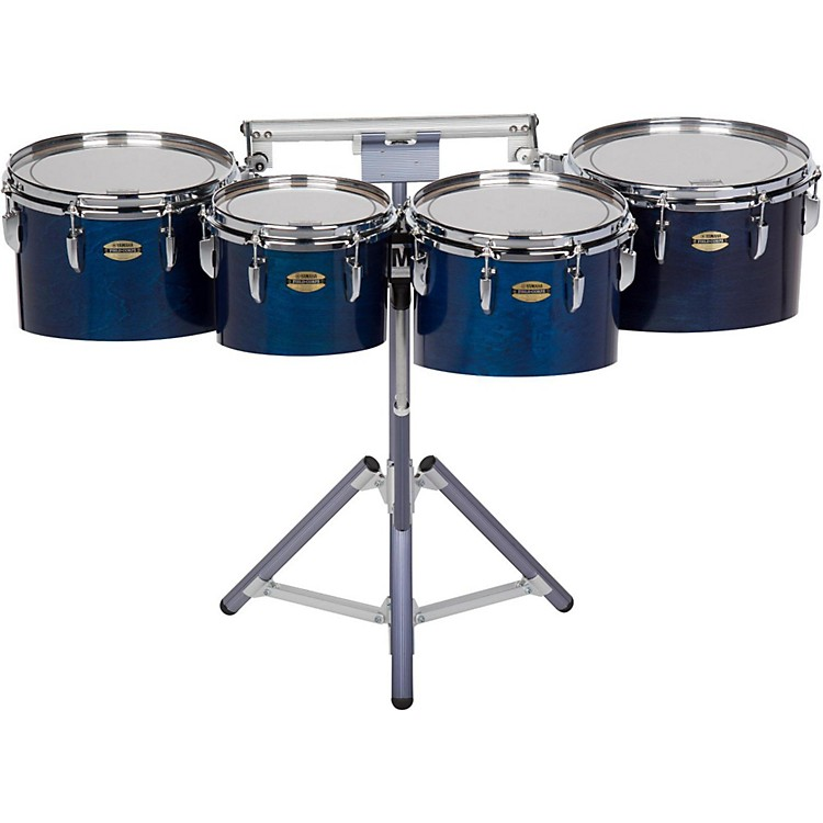 Yamaha8300 Series Field-Corp Series Marching Tenor Quad10, 12, 13 and 14 in.Blue Forest