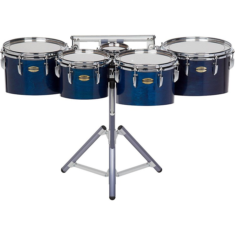 Yamaha8300 Series Field-Corp Series Marching Tenor Quint6/10/12/13/14 in.Blue Forest