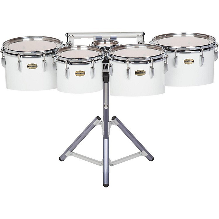 Yamaha 8300 Series Field-Corp Series Marching Tenor Quint 6/10/12/13/14 in. White wrap