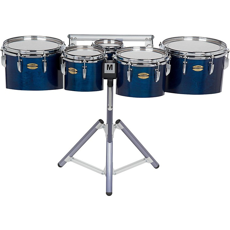 Yamaha 8300 Series Field-Corp Series Marching Tenor Quint 6, 8, 10, 12, 13 in. Blue Forest
