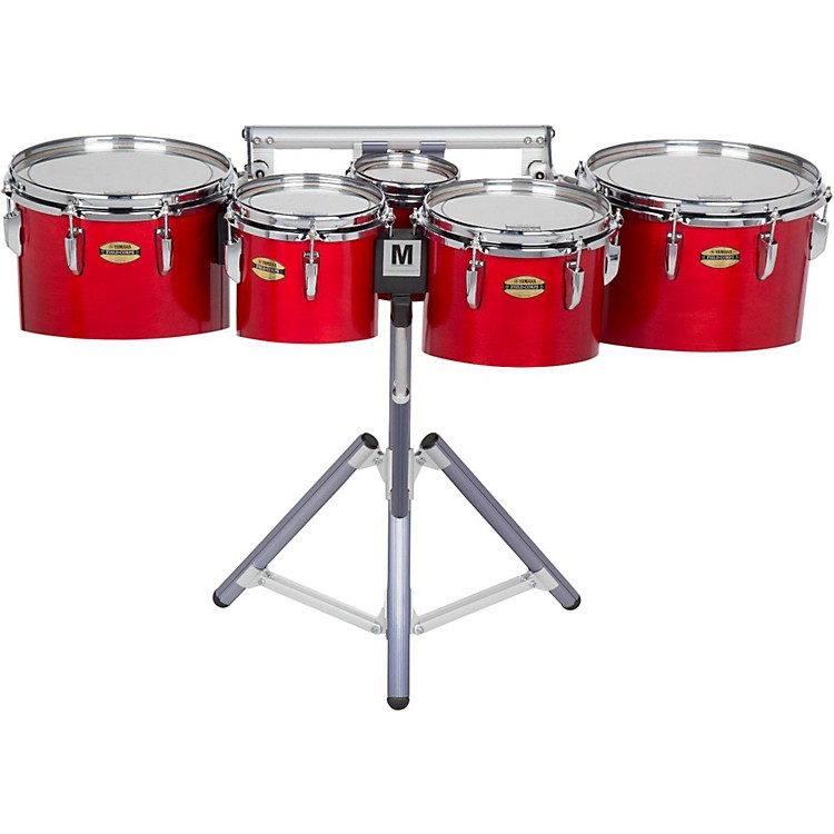 Yamaha8300 Series Field-Corp Series Marching Tenor Quint6, 8, 10, 12, 13 in.Red Forest