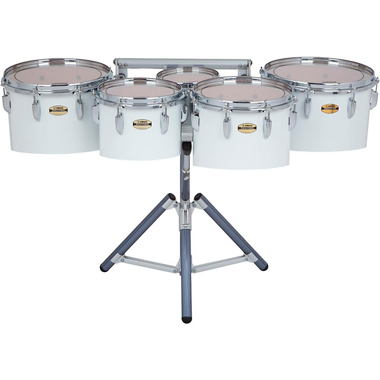 Yamaha8300 Series Field-Corp Series Marching Tenor Quint8/10/12/13/14 in.White wrap
