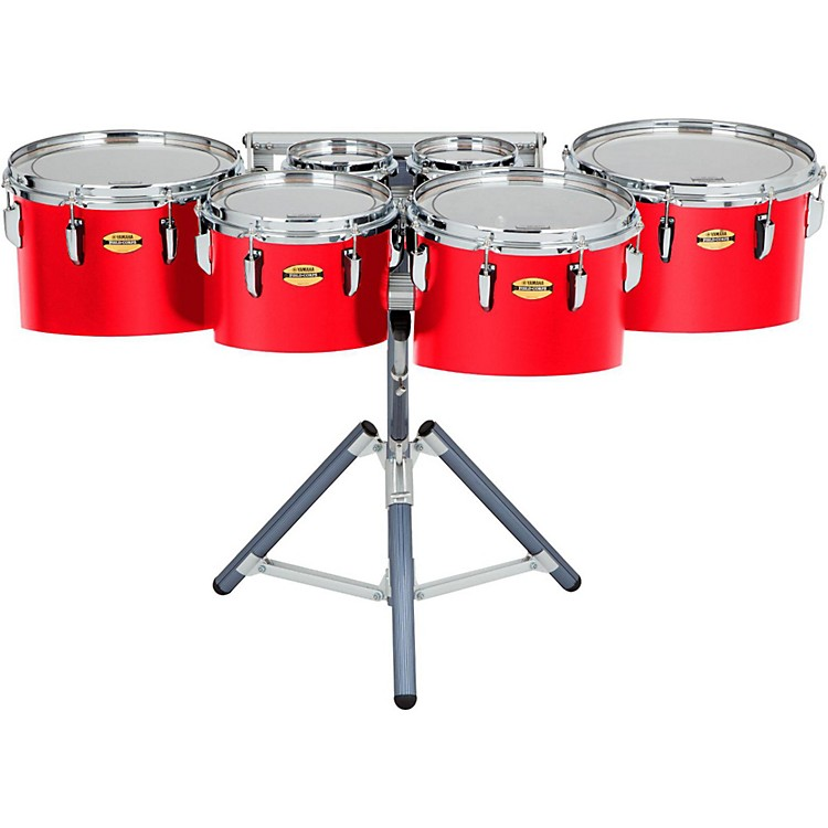 Yamaha 8300 Series Field-Corps Marching Sextet 6, 6, 10, 12, 13, 14 in. Red Forest