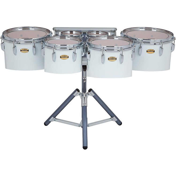 Yamaha8300 Series Field-Corps Marching Sextet6, 6, 10, 12, 13, 14 in.White wrap