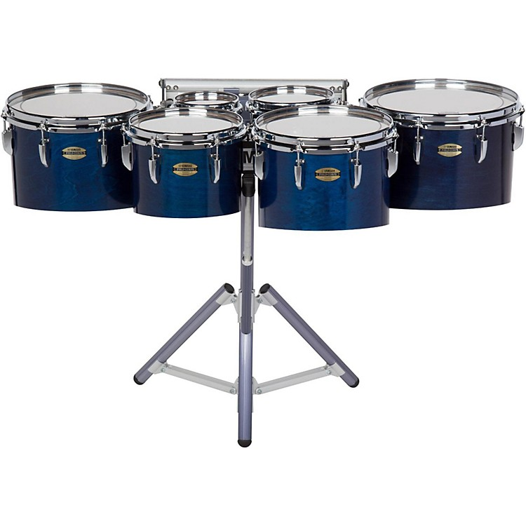 Yamaha 8300 Series Field-Corps Marching Sextet 6, 6, 8, 10, 12, 13 in. Blue Forest