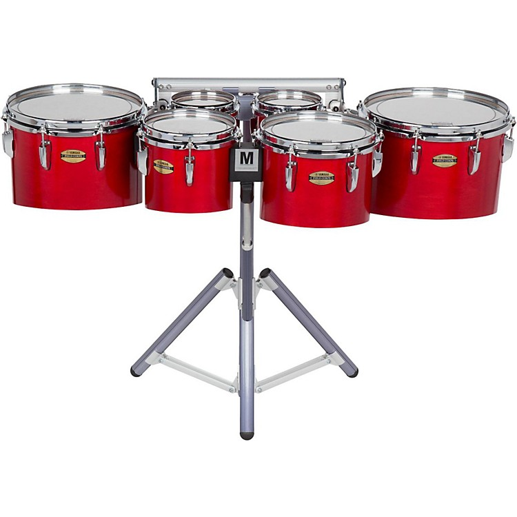 Yamaha8300 Series Field-Corps Marching Sextet6, 6, 8, 10, 12, 13 in.Red Forest