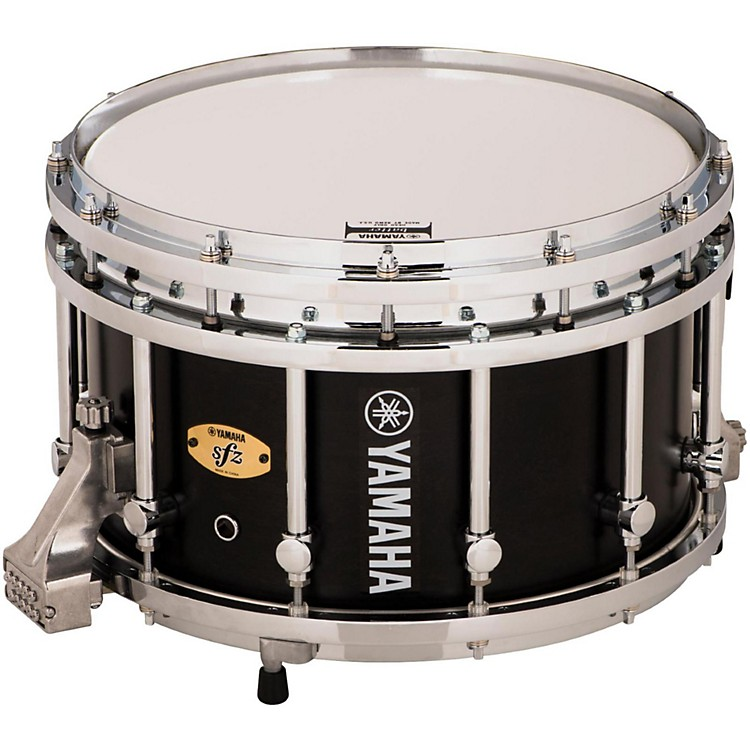 Yamaha 8300 Series Piccolo SFZ marching snare drum 14 x 9 in. Black Forest with Chrome Hardware