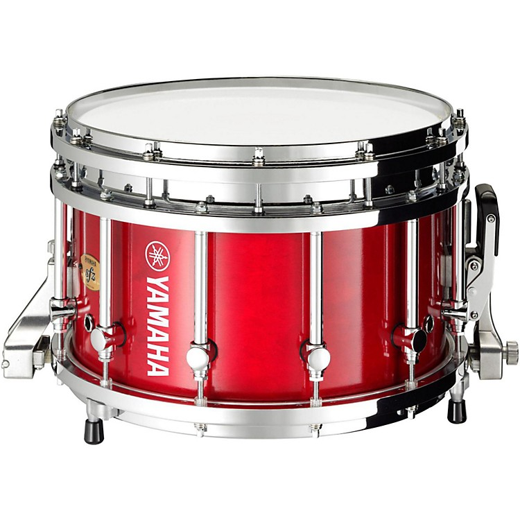 Yamaha 8300 Series Piccolo SFZ marching snare drum 14 x 9 in. Red Forest with Chrome Hardware
