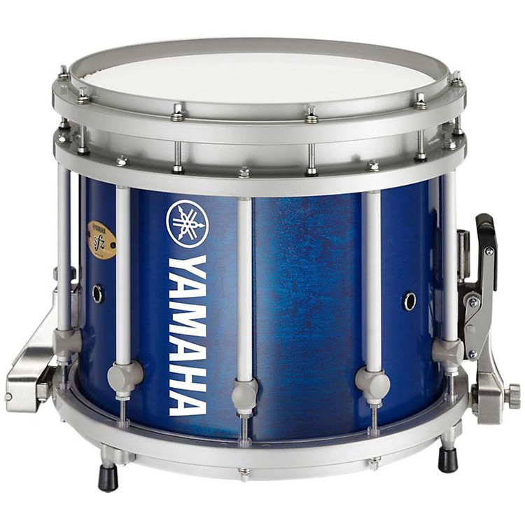 Yamaha8300 Series SFZ Marching Snare Drum13 x 11 in.Blue Forest with Standard Hardware