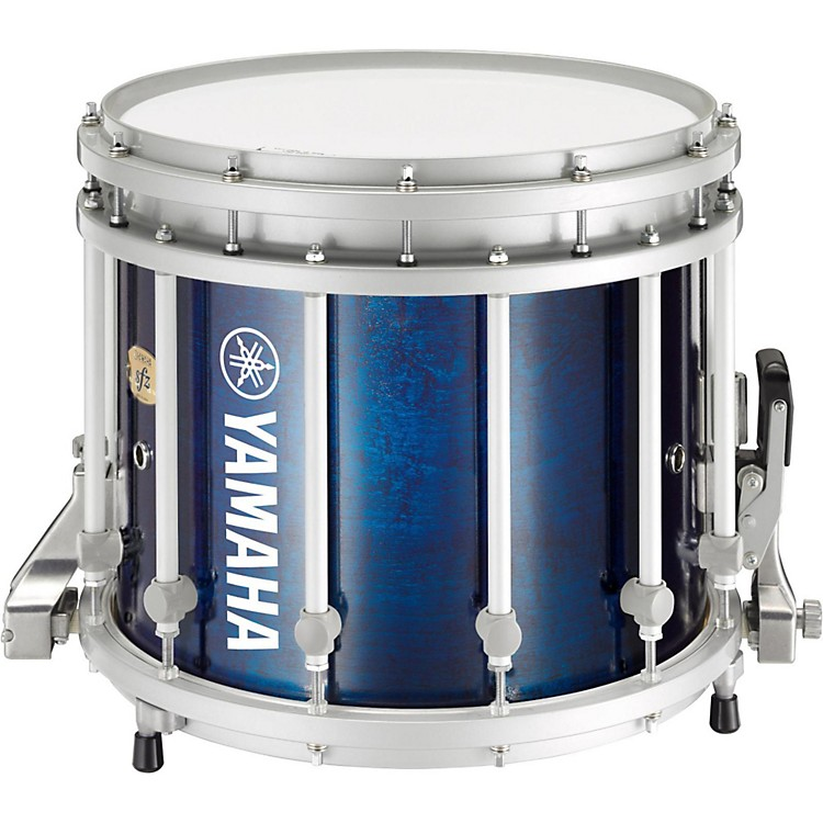 Yamaha 8300 Series SFZ Marching Snare Drum 14 x 12 in. Blue Forest with Standard Hardware