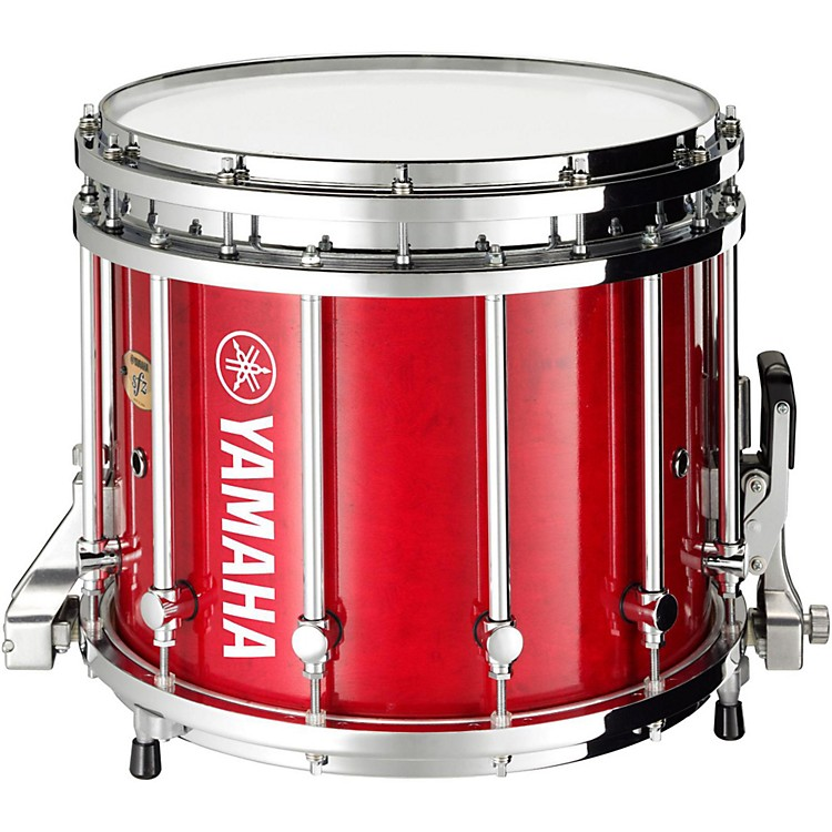 Yamaha8300 Series SFZ Marching Snare Drum14 x 12 in.Red Forest with Chrome Hardware