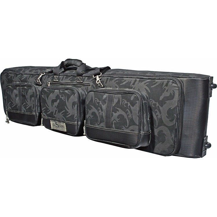 GigSkinz 88-Key Keyboard Bag with Wheels 88 Key
