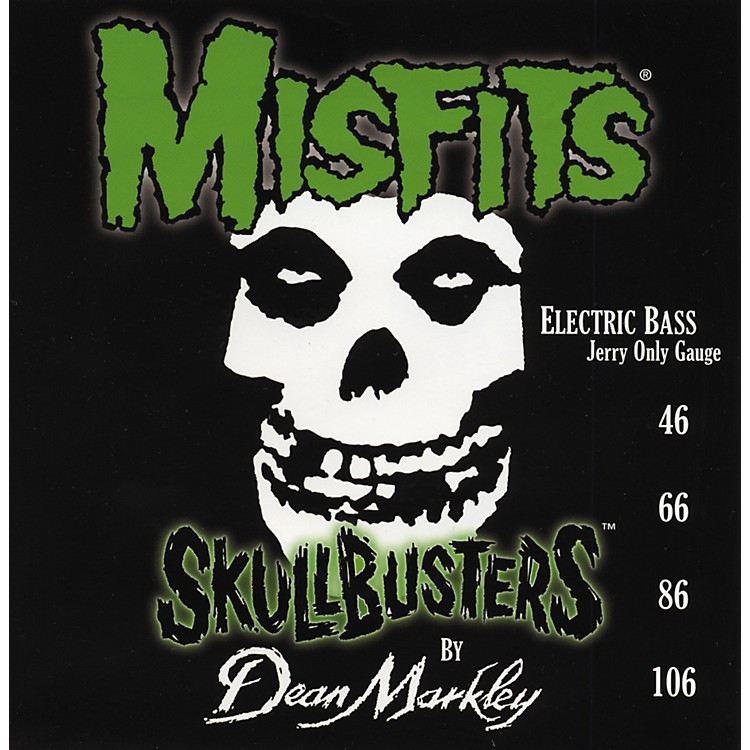 Dean Markley 8801 Misfits Skullbusters Bass Guitar Strings