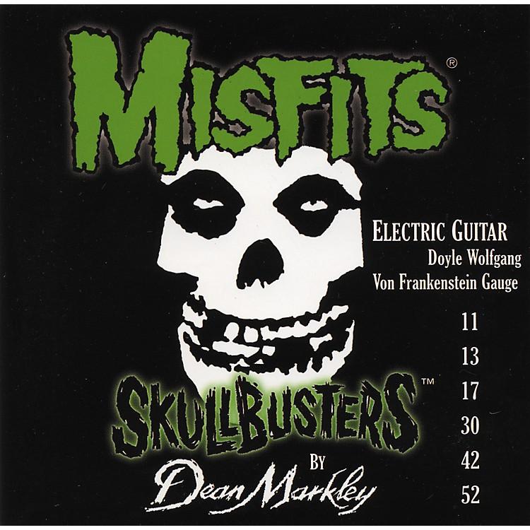 Dean Markley8802 Misfits Skullbusters Electric Guitar Strings Low Tune