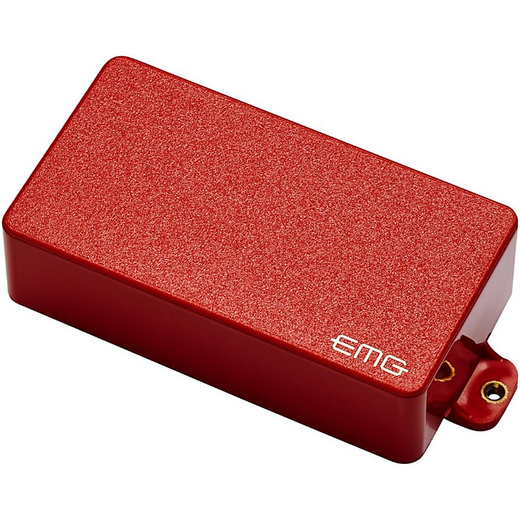 EMG 89 Active Electric Guitar Humbucker Pickup Red