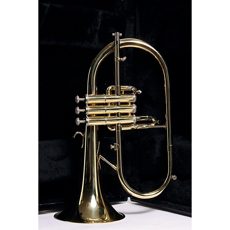 Getzen 895 and 896 Eterna Series Bb Flugelhorn 895 Lacquer 3-Valve 886830088988