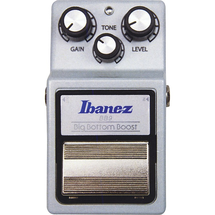 Ibanez9 Series BB9 Big Bottom Boost Guitar Effects PedalSilver