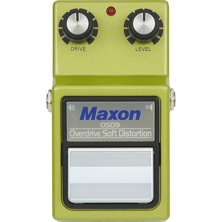 Maxon 9-Series OSD-9 Overdrive/Soft Distortion Pedal