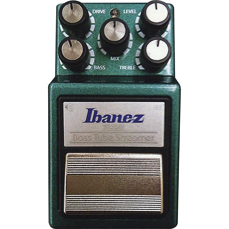 Ibanez9 Series TS9B Bass Tube Screamer Overdrive Bass Effects PedalGreen