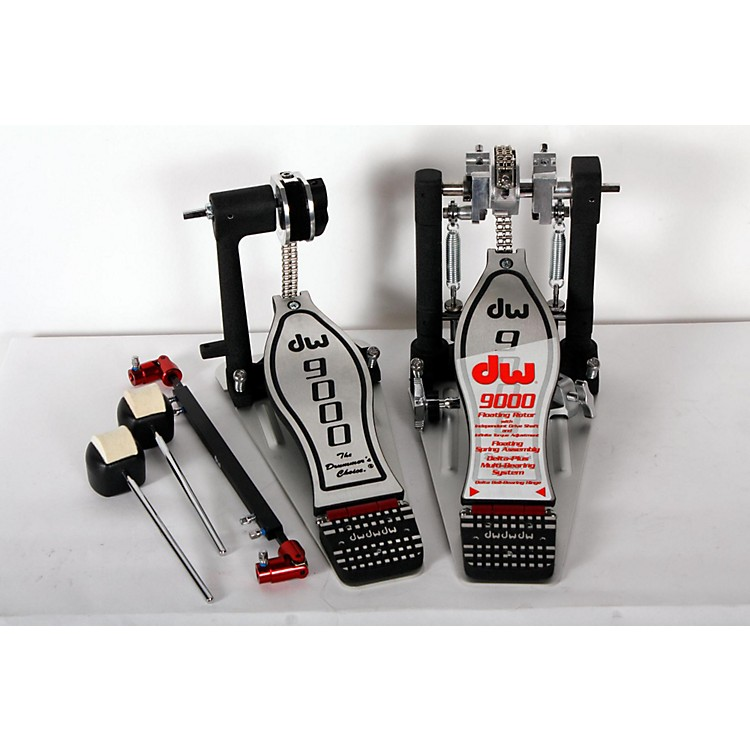DW 9000 Series Double Bass Drum Pedal (Lefty Version) Regular 888365894430