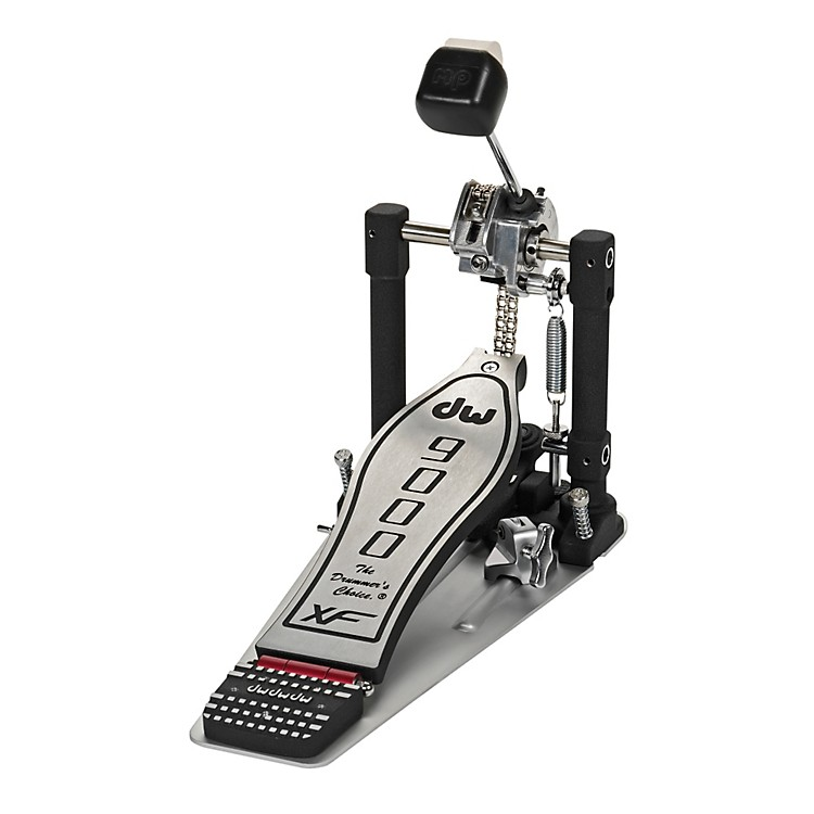 DW 9000 Series Single Bass Drum Pedal eXtended Footboard