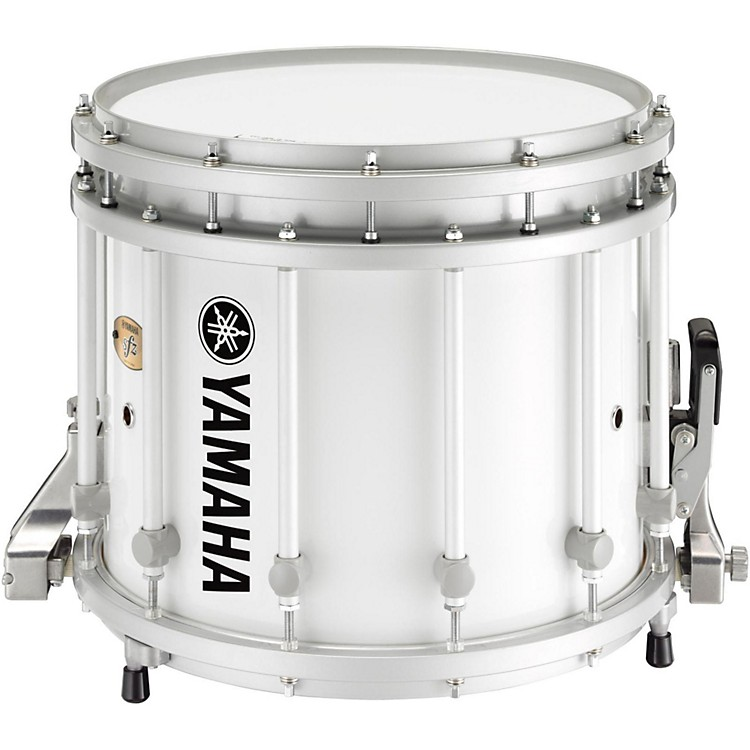 Yamaha9300 Series SFZ Marching Snare Drum14 x 12 in.White with Standard Hardware
