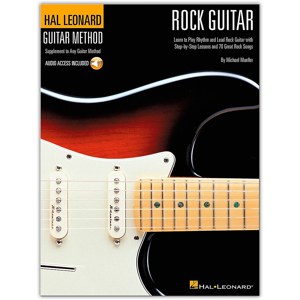 Hal Leonard Guitar Method - Rock Guitar Book/CD Standard