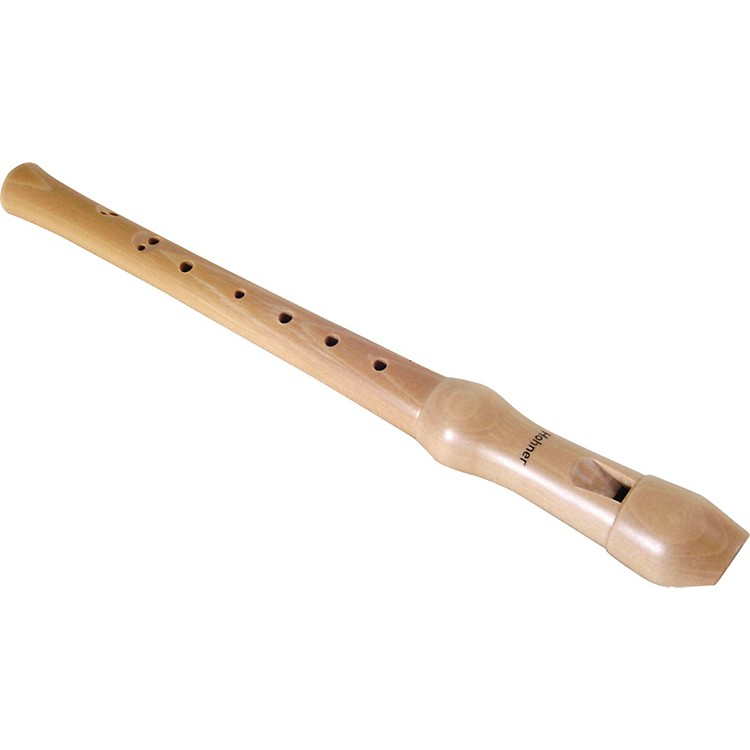 Hohner9522 2 Piece Maple Soprano Baroque Recorder
