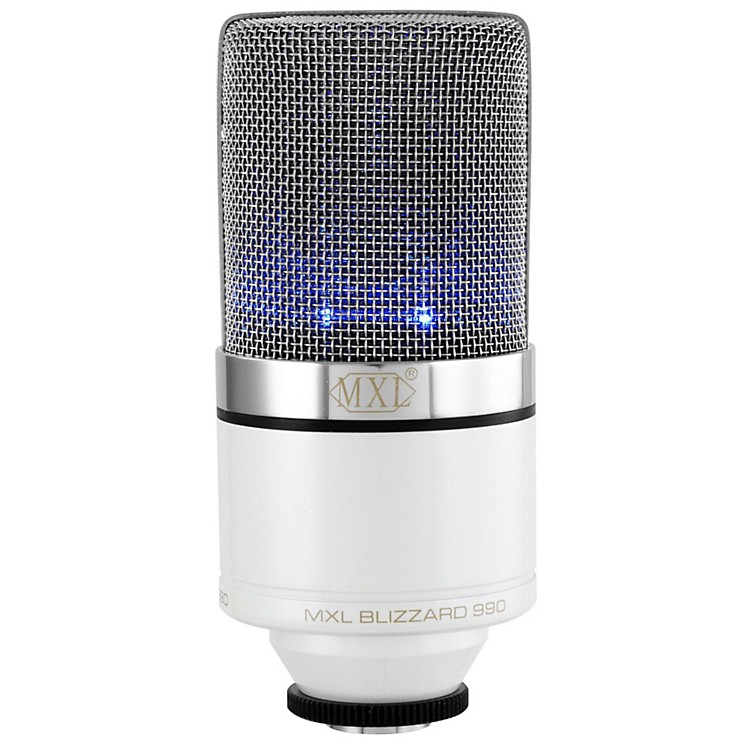 MXL990 Blizzard Limited Edition Condenser Microphone