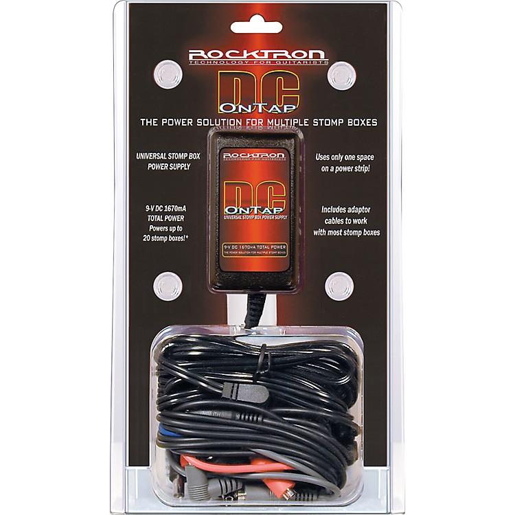 Rocktron9V DC OnTap Adapter Universal Guitar Pedal Power Supply