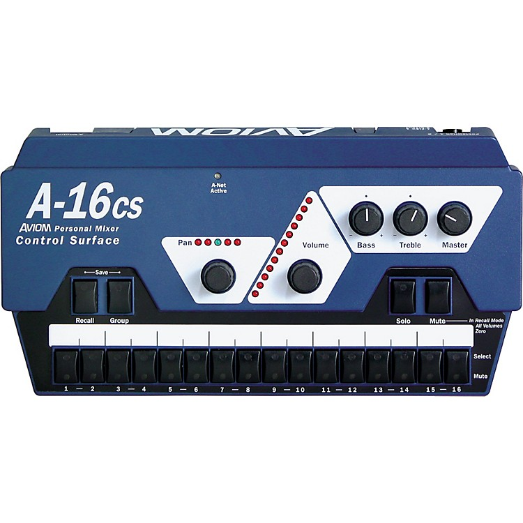 Aviom A-16CS Control Surface Remote Control for A-16R Mixer