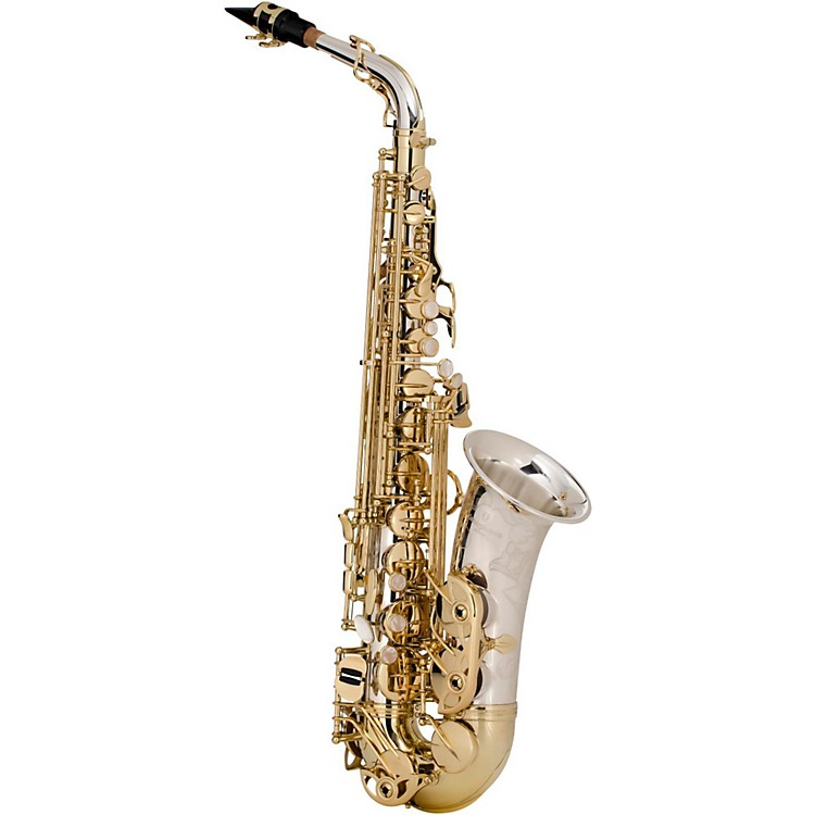 Yanagisawa A-9935 Silver Series Professional Alto Saxophone Silver Neck, Body and Bell